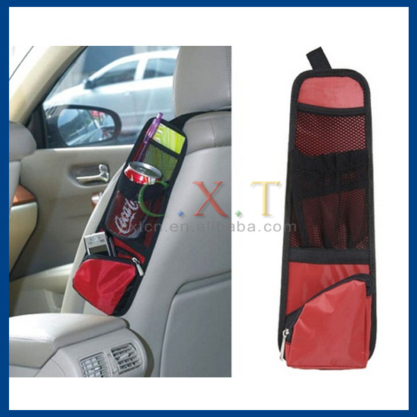 Nylon Car Organizer Storage Multi-Pocket Car Chair Side pocket