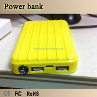 Element 15000mAh external battery pack portable charger power bank, dual USB output,ultra compact design