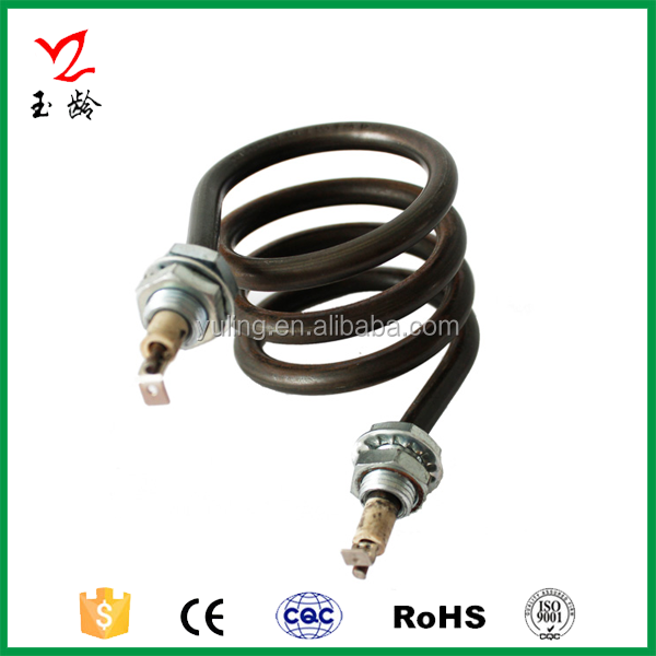 Teflon/PTFE Coated Coil Heating Element for Water Boilers