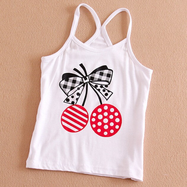 W91120A 2015 NEWEST SUMMER FASHION CHILDREN GIRLS CUTE VEST TOPS