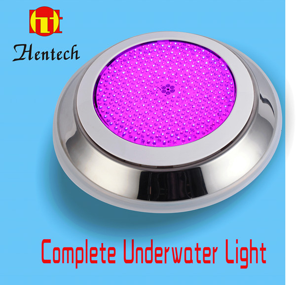 2016 HENTECH 316 Stainless steel 100% Resin Filled LED underwater light 3 Years warranty AC/DC 12V IP68