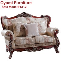 Best quality New style Hand made colonial style sofas