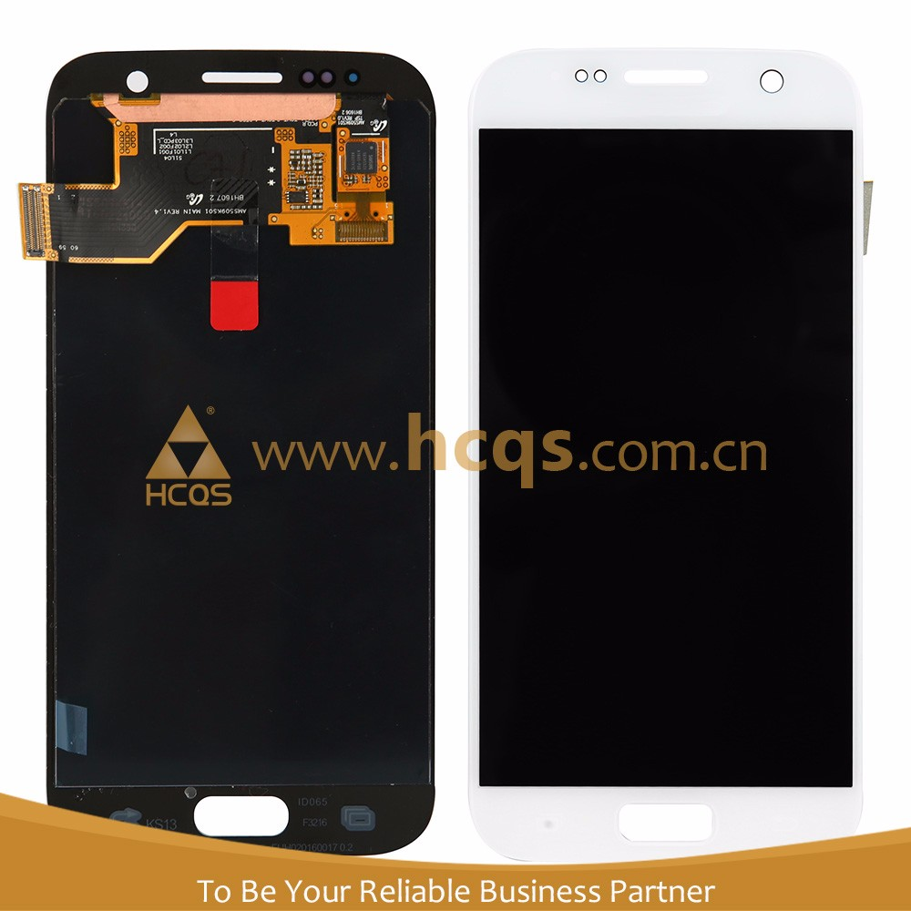Factory selling logic board unlocked screen mobile for samsung s7