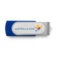 Best Selling Products Usb 2.0 Swivel Usb Flash Drive 8 gb Metal Twister Memory Stick with Logo