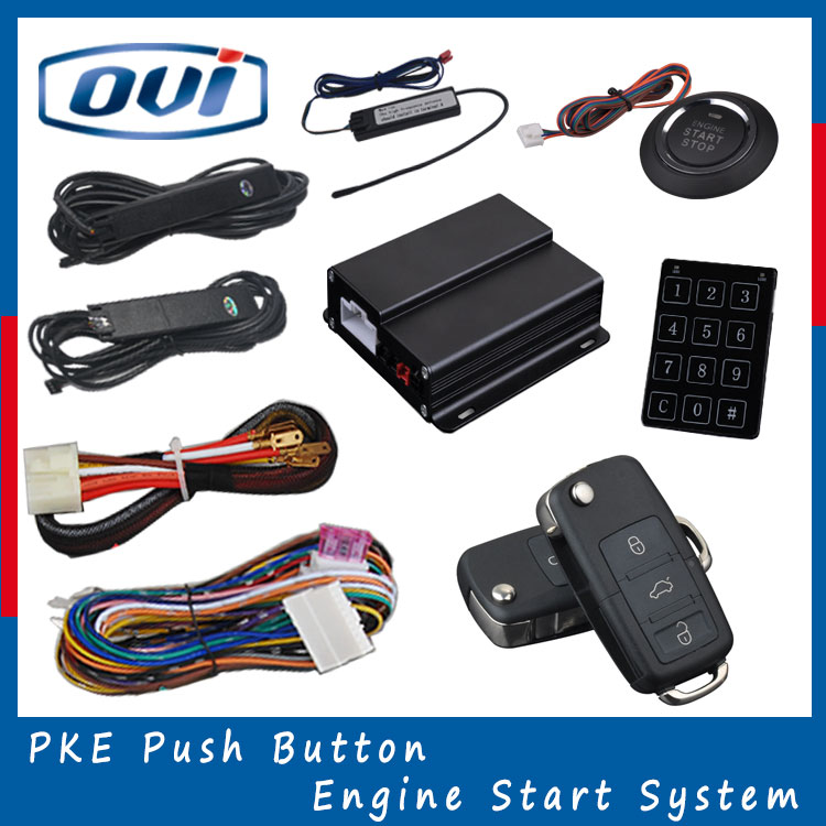Favorite automatic window lift vision car alarm with remote control starter