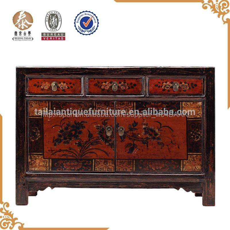 Muebles antiguos de madera para comedor aparador r stico - Muebles antiguos de madera ...