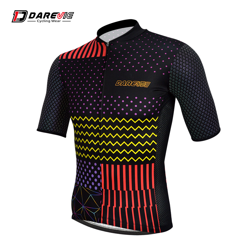 Custom reflective cycling tops bike jersey wear apparel