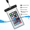 Universal fluorescent waterproof bag for smart phone waterproof pouch dry case
