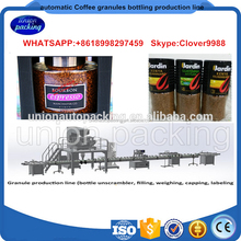 Full automatic coffee capsule bottling production line / coffee capsule packing packaging machine