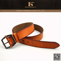 Genuine cowhide famous 100% woman leather belt with rivet