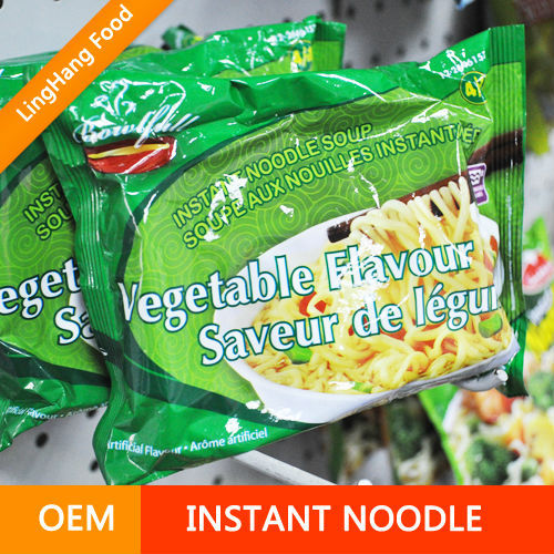 Palm oil free instant noodle Mi goreng noodles Instant noodles chicken beef and curry