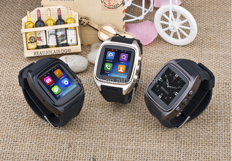 Android Bluetooth Smart Watch with 1.54 inch screen