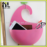 Promotional bathroom Sundries wholesale colored plastic silicone container