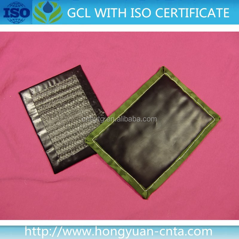 geosynthetic clay liner with hdpe geomembrane GCL for basement& subways