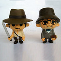 custom making Indiana movie Character Cute Funny Vinyl Mini Figures Collectible Toy China producer