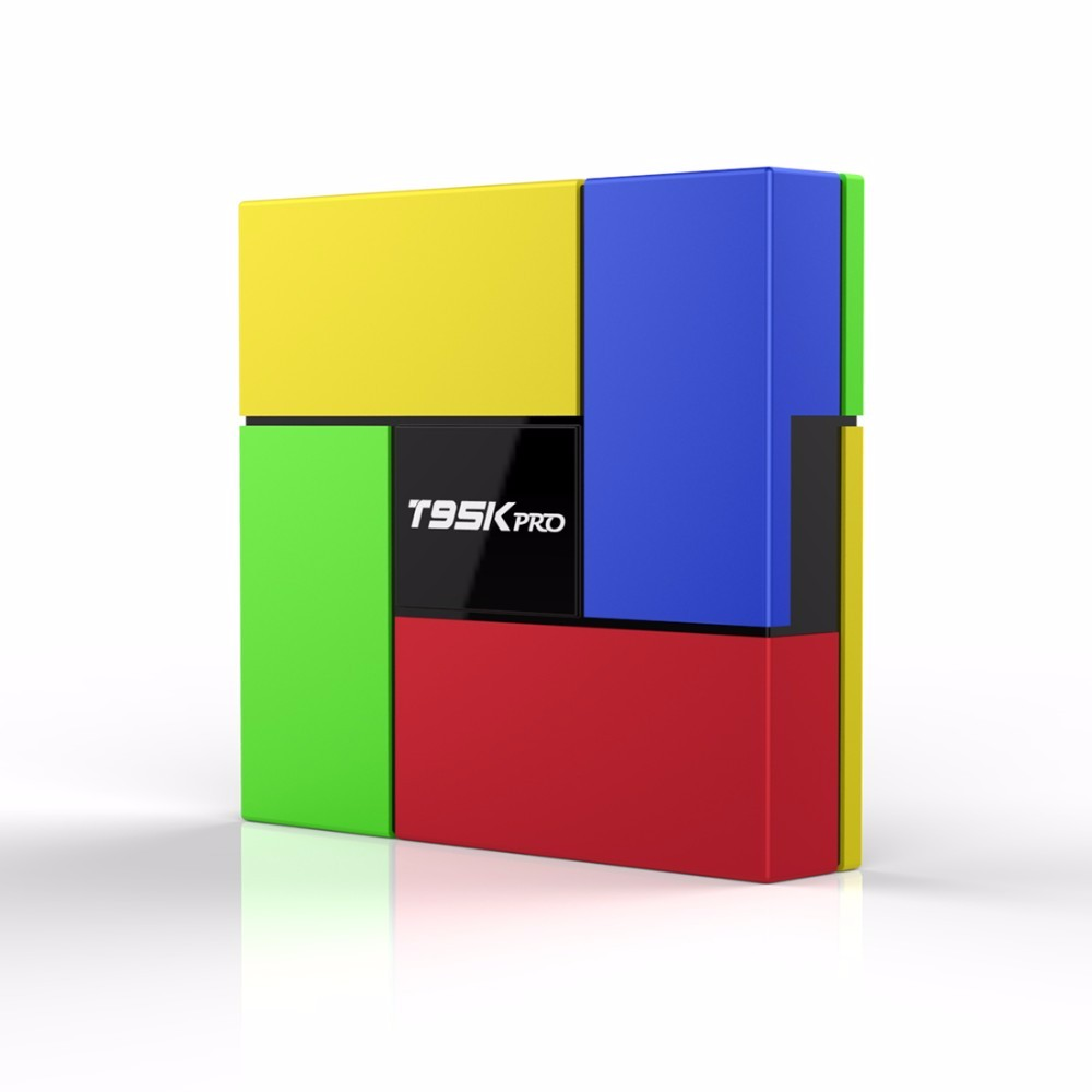 Android TV Box 4K Play Store App Free Download T95K Pro Box 2.4G + 5G WiFi Smart TV Box