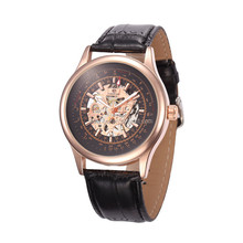Best Selling Sport watch Men Mechanical Movement Hollow-out Cheap Price