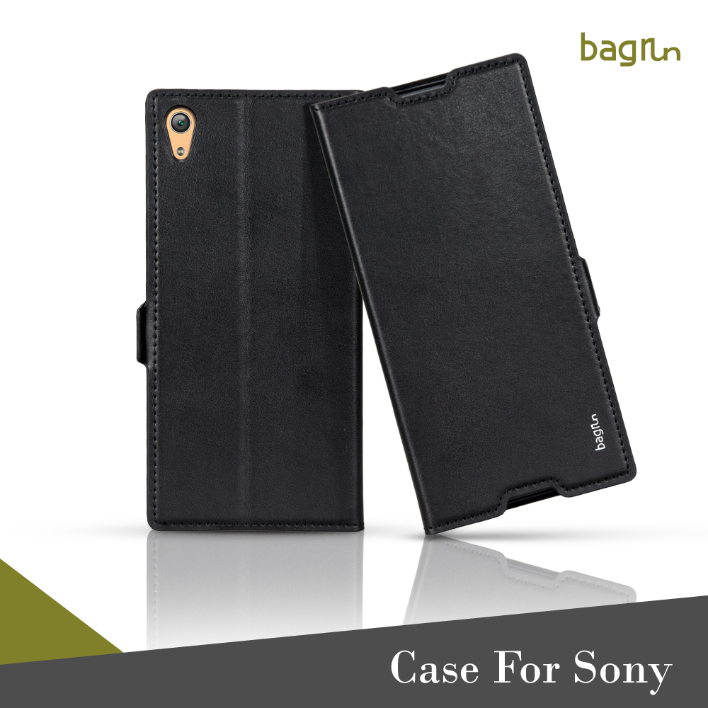 Custom Shockproof Wallet Card Slots Phone Case For Sony