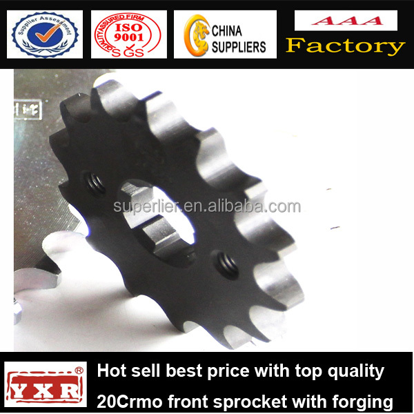 front motorcycle sprocket,motorcycle silent chain,motorcycle sprocket 428 15t