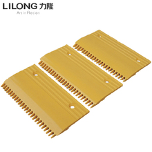 Ningbo Escalator Parts Middle Plastic Comb Plate 22T