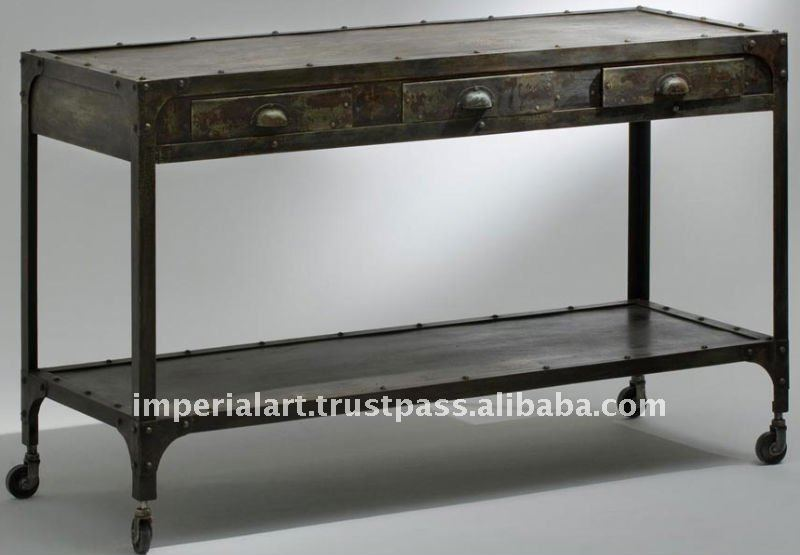 industrial console table buy industrial console iron furniture product on alibabacom