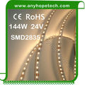 SMD2835 indoor high lumen led light 1200lm with 3m adhesive backing a peal off ribbon