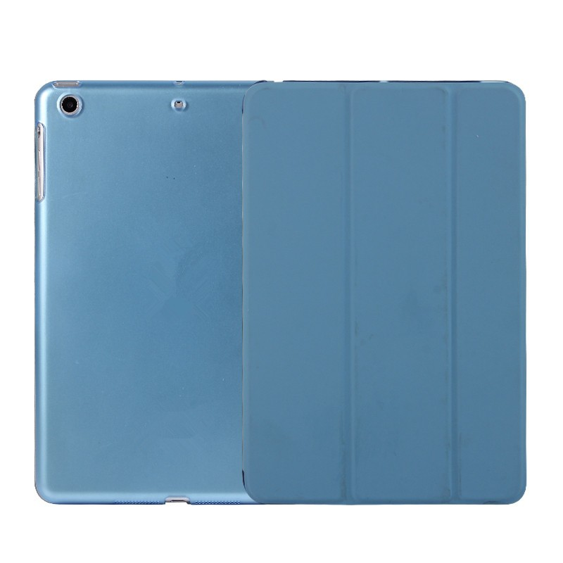Stocks Direct Sale Smart Folder Leather case PU Cover Smart Case For iPad Air