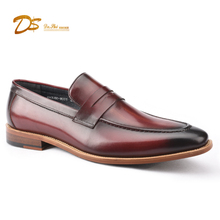 2018 men casual loafers genuine leather shoes made in Guangzhou