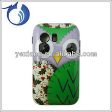 Cute Owl Design Case Hard Plastic Protector Cover Case For Samsung Galaxy Y S5360