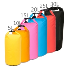 5L/10L/15L/20L/25L/30L Dry bag Roll Top Waterproof Floating Duffle Dry Gear Bag with Adjustable Shoulder Straps