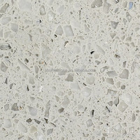white sparkle quartz stone countertop