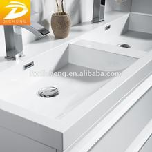 Double Sinks Modern European Designs Wall Commercial White Modern Bathroom Vanities