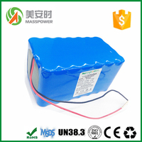 China battery manufacturer wholesale lithium battery 12V 60Ah 18650 battery pack