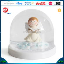 Wholesale Custom Mini Christmas Angel Snow Globe