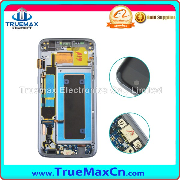 Wholesale Factory LCD Screen Assembly for Samsung S7 Edge G935F, LCD With Digitizer for Galaxy S7 Edge