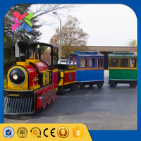 Amusement park carnival rides mini electric tourist train