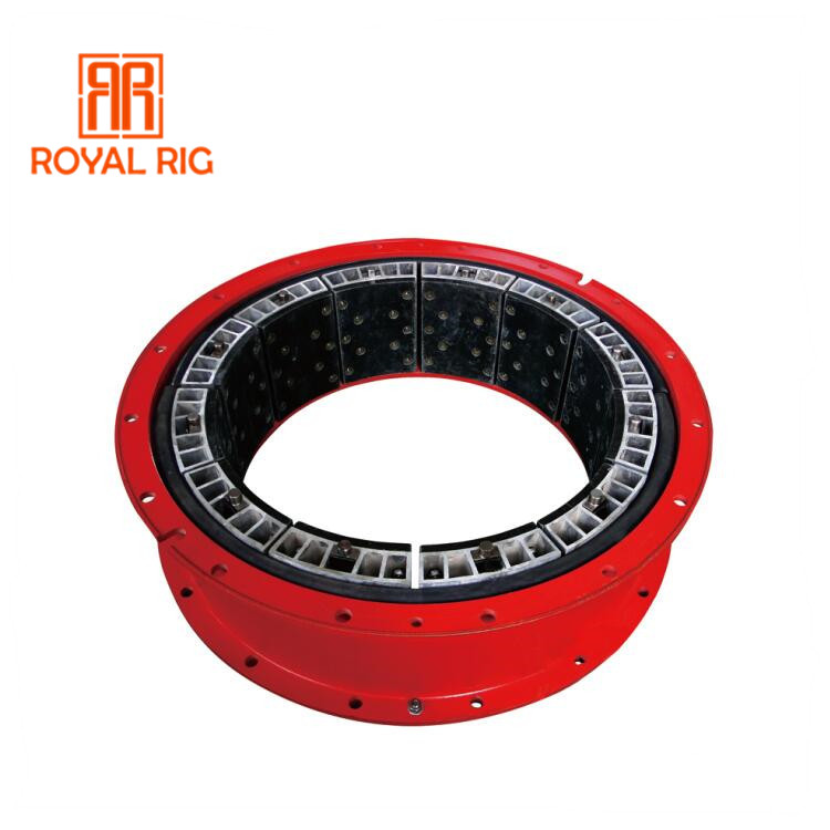 Oil drilling rig pneumatic air tube clutch for mud pump