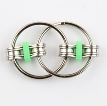 new arrive ABS plastic hand spinner bike chain fidget toy popular relaxing