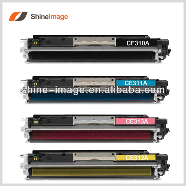 ce 312 toner cartridge for HP CE310A CE311A CE312A CE313A
