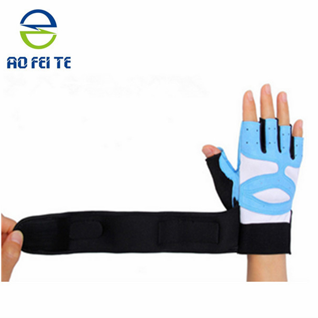 Hot Selling Weight Lifting Gloves With Wrist Support For Gym Workout Crossfit Weightlifting Fitness hand gloves