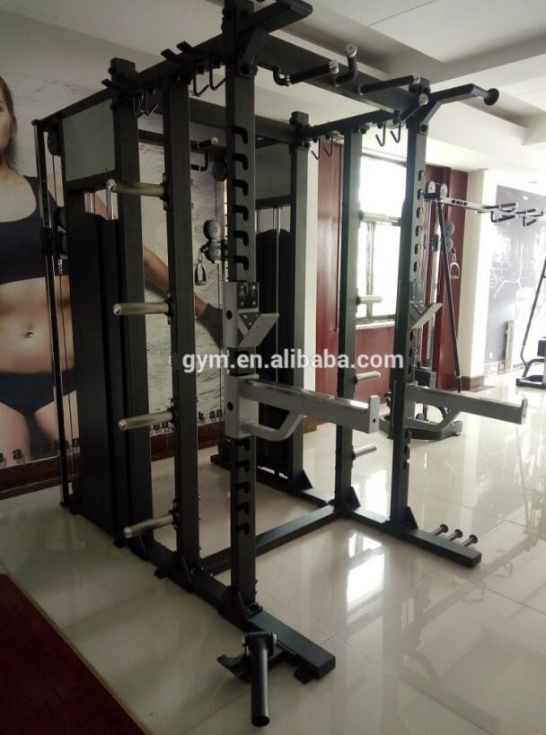 Professional good quality Fitness Equipment body excise Gym machine Functional squat rack