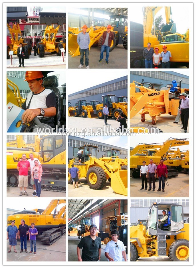 chinese construction machinery 5ton wheel loader ZL50 price