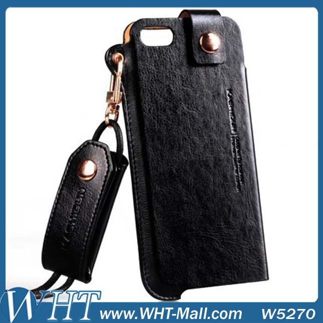Sling Luxury Leather Case for Apple iPhone 5/ 5G/ 5S