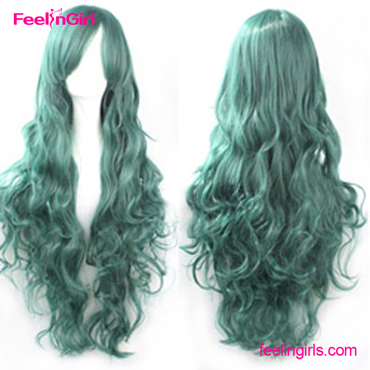 100% High Temperature Fiber Anime Wigs for Boy