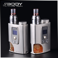 vw mods 50w sbody squonk box S-CA3 custom color diy atomizer micro battery