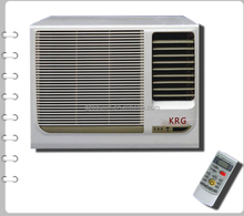 China export window type air conditioner R22 410a gas , famous compressor