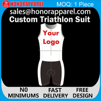 Custom Sublimation Lycra Spandex Triathlon Skin Suits/Lycra Speed Suit/Mens Triathlon Suits honorapparel