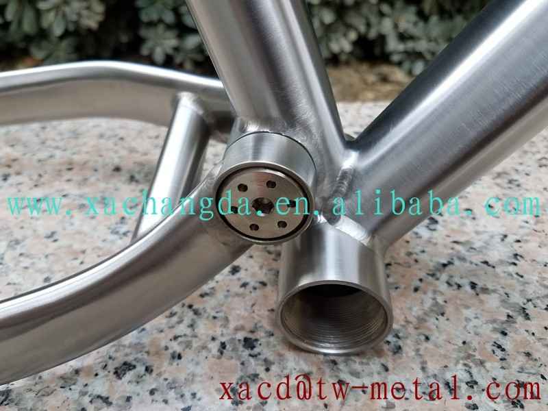 titanium fat bike frame Titanium suspension bike frame customized Ti bike frame