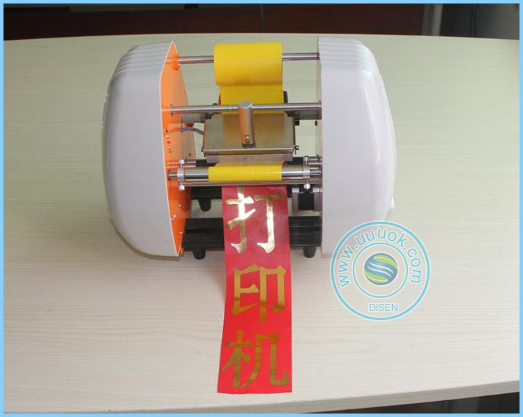 Mini high precision automatic cheap 150 printer for printing on satin ribbon