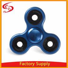 Factory Supply Aluminum Tri Metal Spinner Fidget Toy Hand Spinner for Adults Kids